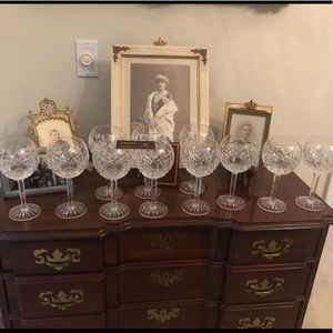 11 Waterford Lismore Wine glasses